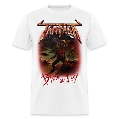 Based on Evil T-Shirt Unisex White - Men's T-Shirt