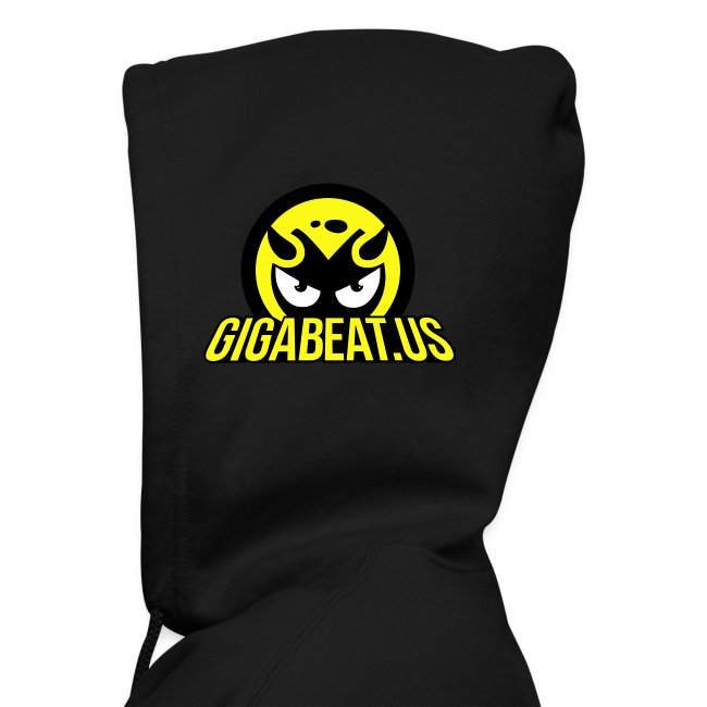 GB Black Hoodie - Head Logo with Signature