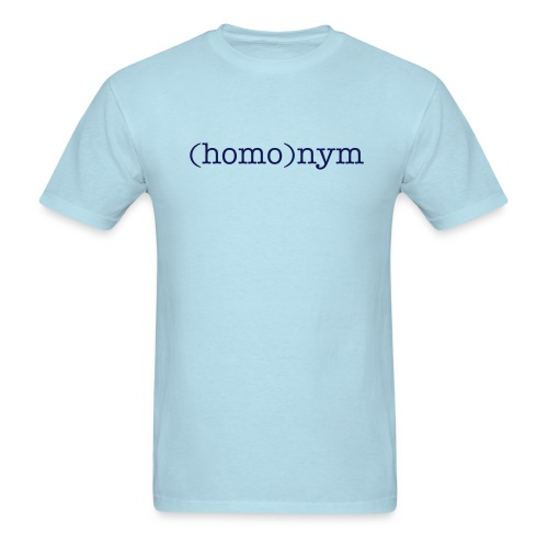 LANGUAGES (HOMO) PRIDE SHIRT - Men's T-Shirt