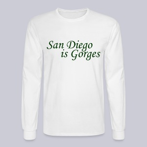 San Diego is Gorges - Men's Long Sleeve T-Shirt