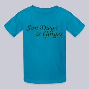 San Diego is Gorges - Kids' T-Shirt
