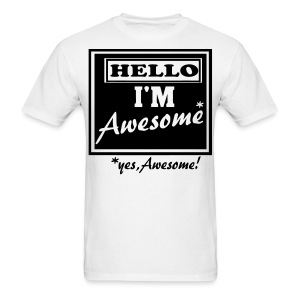 Yes, awesome! - Men's T-Shirt