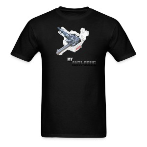 4WS Anti-Drug - Men's T-Shirt