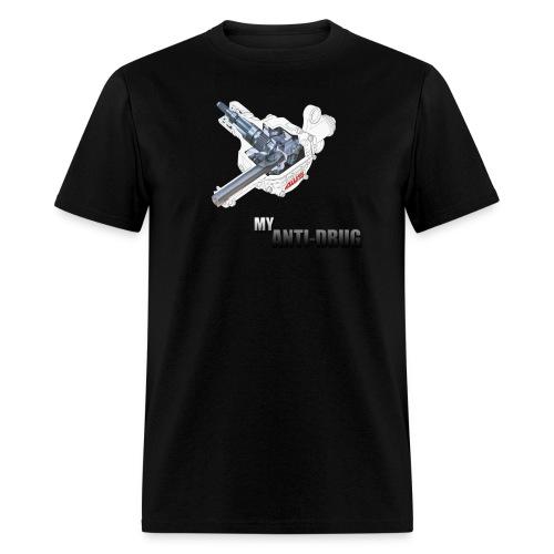 4WS Anti-Drug - Men's T-Shirt