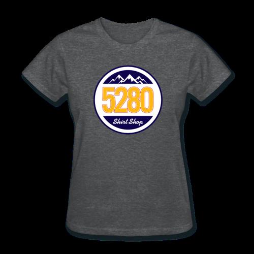 5280 Tee - White Back - Ladies - Women's T-Shirt