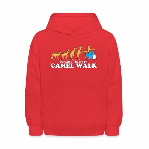 Camel Walk Kid's Hoodie - Kids' Hoodie