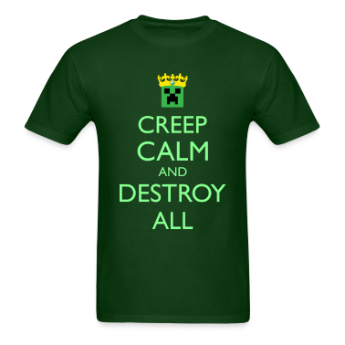 Creep Calm and Destroy All Men's