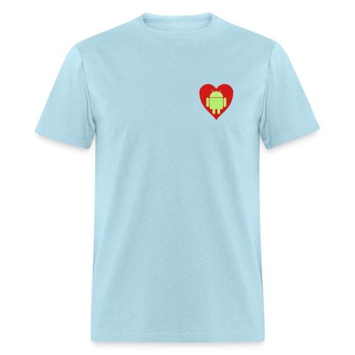 Android Love (Mens) - Men's T-Shirt