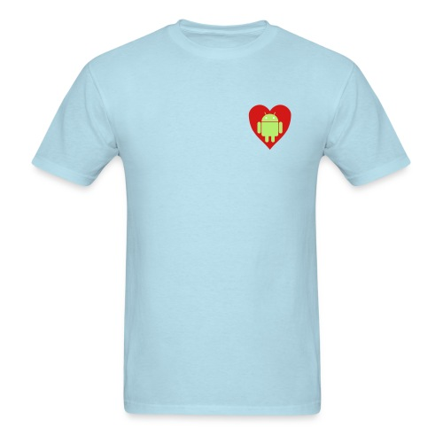 Android Love (Mens) - Men's T-Shirt