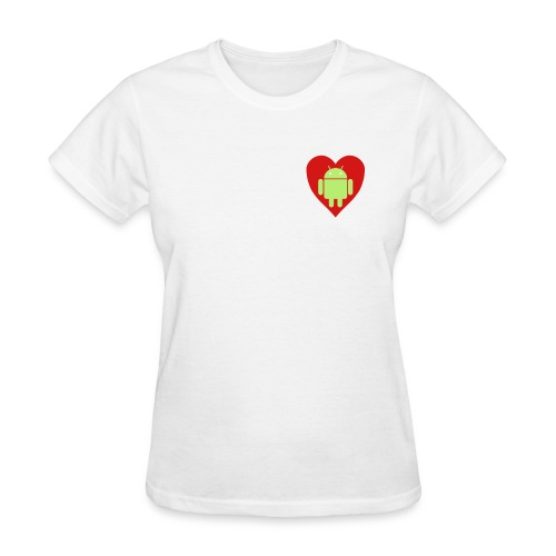 Android Love (Womens) - Women's T-Shirt