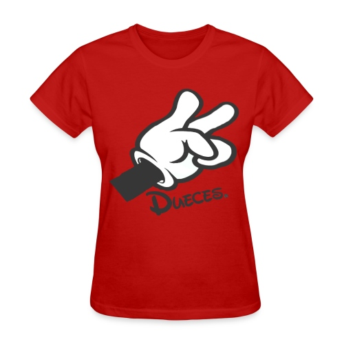 Dueces - Women's T-Shirt