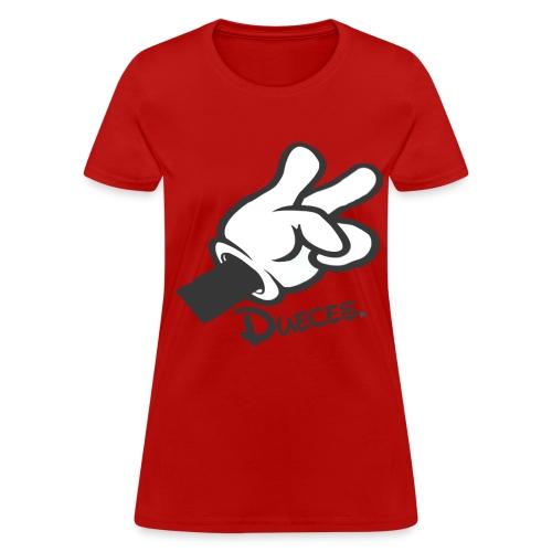 Dueces - Women's T-Shirt