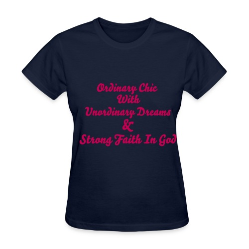 Ambitious Woman Design 4 - Women's T-Shirt