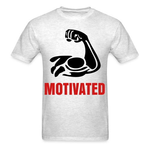 Muscle Motivated - Men's T-Shirt