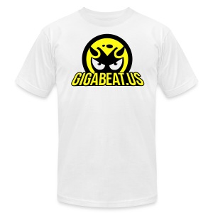 GIGABEAT WHITE TSHIRT - Men's T-Shirt by American Apparel