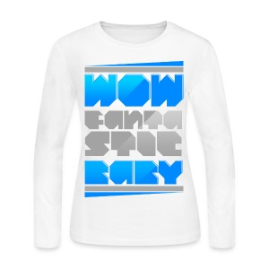 [BB] Wow Fantastic Baby - Women's Long Sleeve Jersey T-Shirt