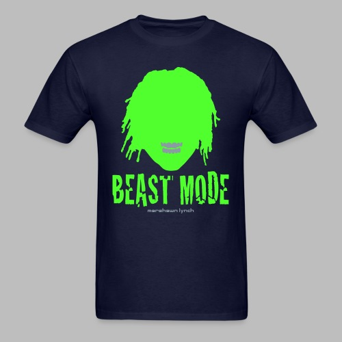 Beast Mode - Marshawn Lynch -  - Men's T-Shirt