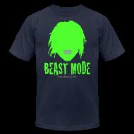 T-Shirts ~ Men's T-Shirt by American Apparel ~ Beast Mode - Marshawn Lynch -