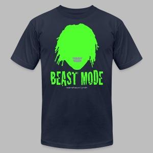 Beast Mode - Marshawn Lynch -  - Men's Fine Jersey T-Shirt