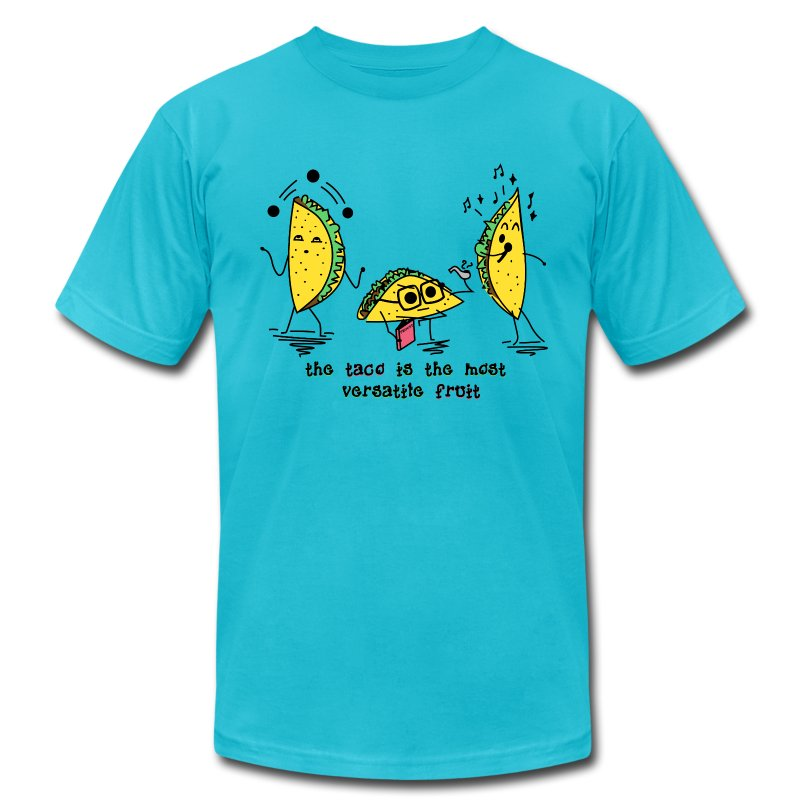 Taco T - Men's T-Shirt by American Apparel