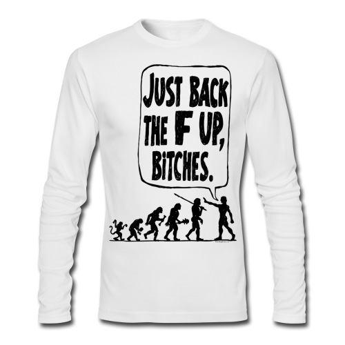 Back up - Men's Long Sleeve T-Shirt by Next Level