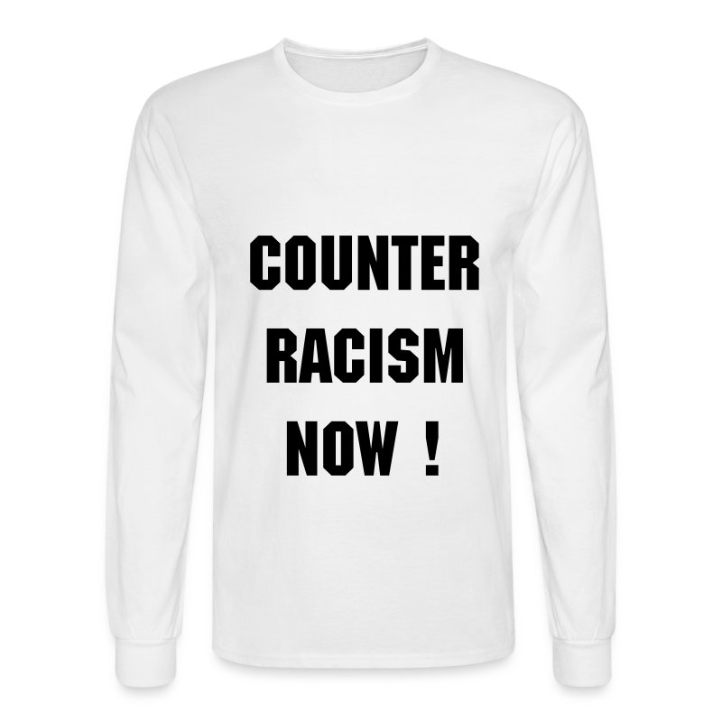 CR T long white - Men's Long Sleeve T-Shirt