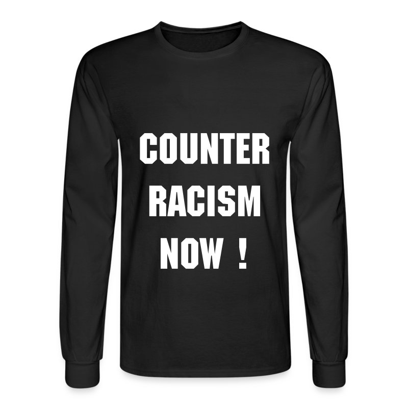 CR T long black - Men's Long Sleeve T-Shirt