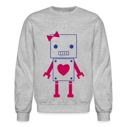 Swagged out robot Girl - Crewneck Sweatshirt