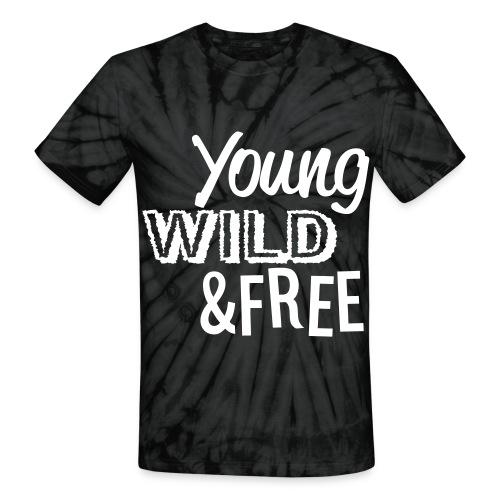 Y W & F T-Shirt - Unisex Tie Dye T-Shirt