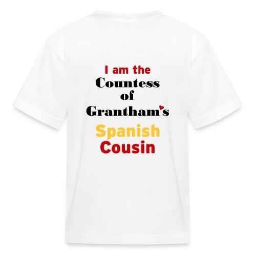 downton abbey : spanish cousin - Kids' T-Shirt