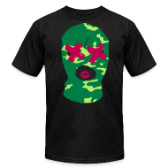 T-Shirts ~ Men's T-Shirt by American Apparel ~ Camo Goon f'd