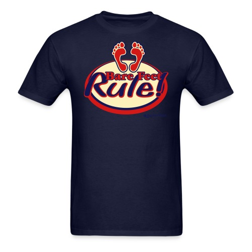 Bare Feet Rule - Men's Tee - Men's T-Shirt