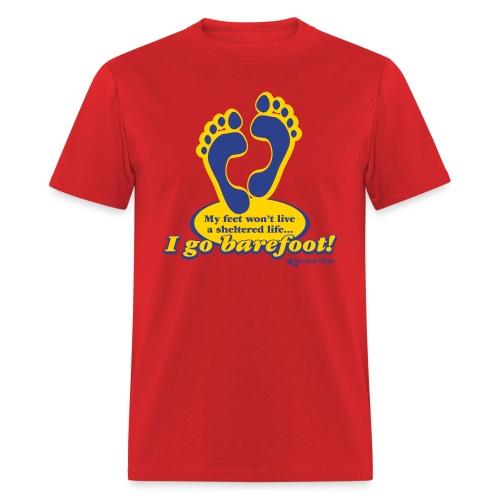 I Go Barefoot - Men's Tee - Men's T-Shirt
