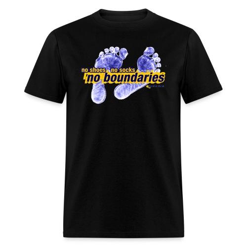 No Boundaries - Mens Tee - Men's T-Shirt