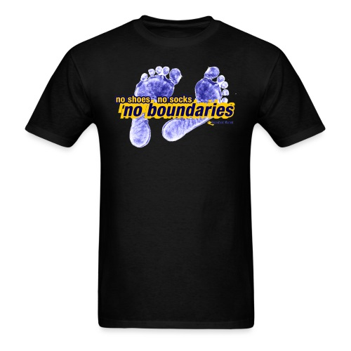 No Boundaries - Mens Tee - Men's T-Shirt