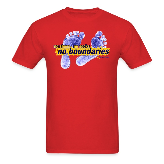 No Boundaries - Mens Tee