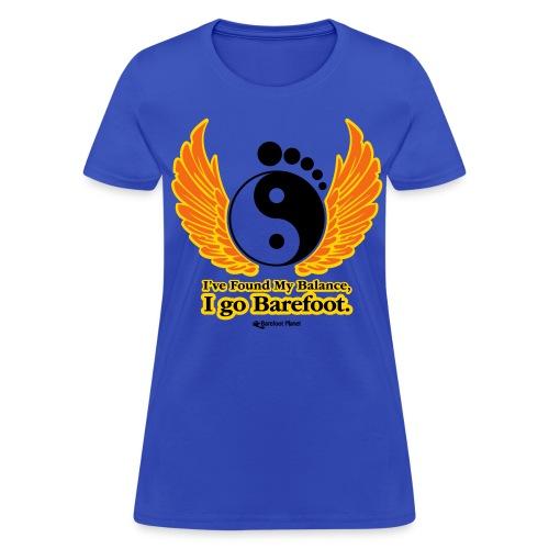 Barefoot Balance 1 - Women's Tee - Women's T-Shirt