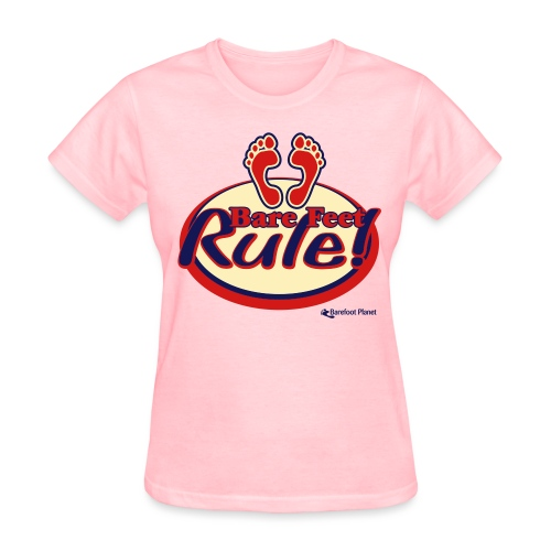 Bare Feet Rule - Women's Tee - Women's T-Shirt