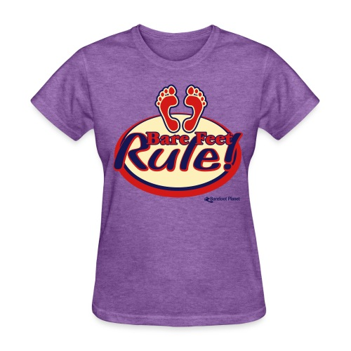 Bare Feet Rule - Women's Tee - Women's T-Shirt