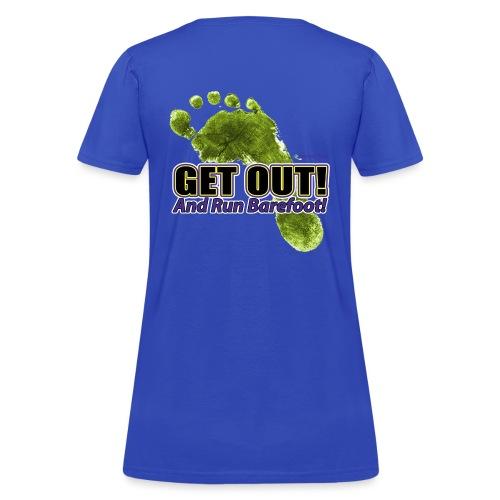 Get Out - Runners Women's Tee - Women's T-Shirt