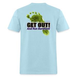 Get Out - Runners Men's Tee - Men's T-Shirt