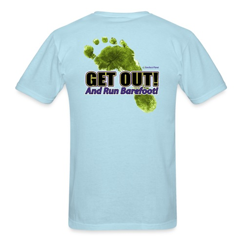 Get Out - Runners Men's Tee - Men's T-Shirt