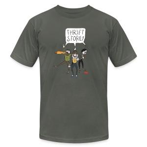 Hipster Zombies - Men's Fine Jersey T-Shirt