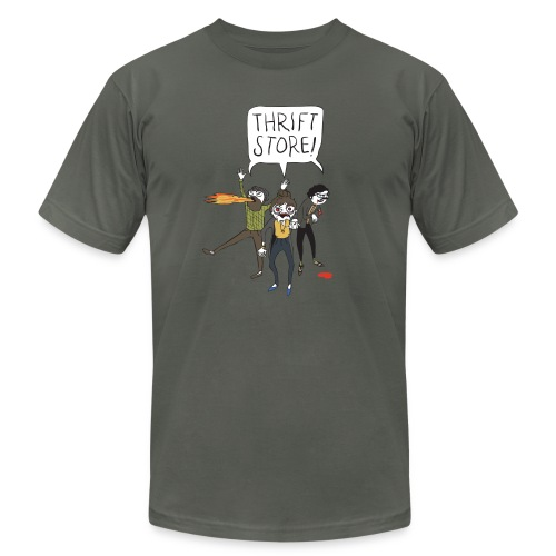 Hipster Zombies - Men's Fine Jersey T-Shirt
