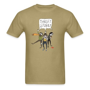 Hipster Zombies - Men's T-Shirt