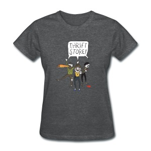 Hipster Zombies - Women's T-Shirt