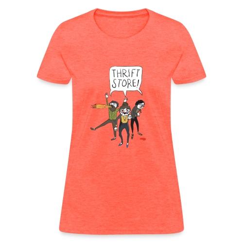 Hipster Zombies - Women's T-Shirt