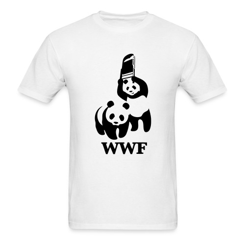 WWF Panda Fight - Men's T-Shirt