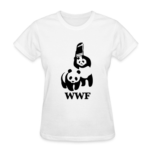 Female - WWF Panda Fight - Women's T-Shirt