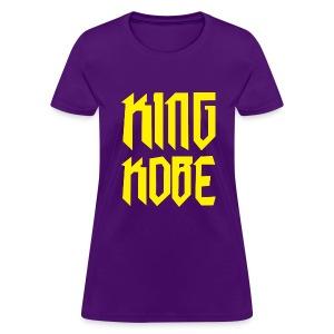 Womens King Kobe Shirt - Women's T-Shirt